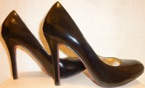 Steve Madden Nwt Patent Leather Black Pumps