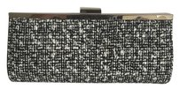 Steve Madden Tweed Formal Black/White Clutch