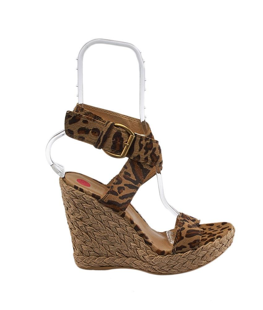 new arrival for sale Stuart Weitzman Woven Animal Print Wedges sale for cheap txevzZ