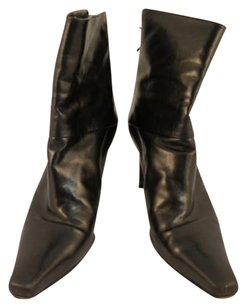 Stuart Weitzman Womens Ankle Leather Black Boots