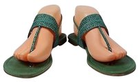Stuart Weitzman Womens Green Sandals