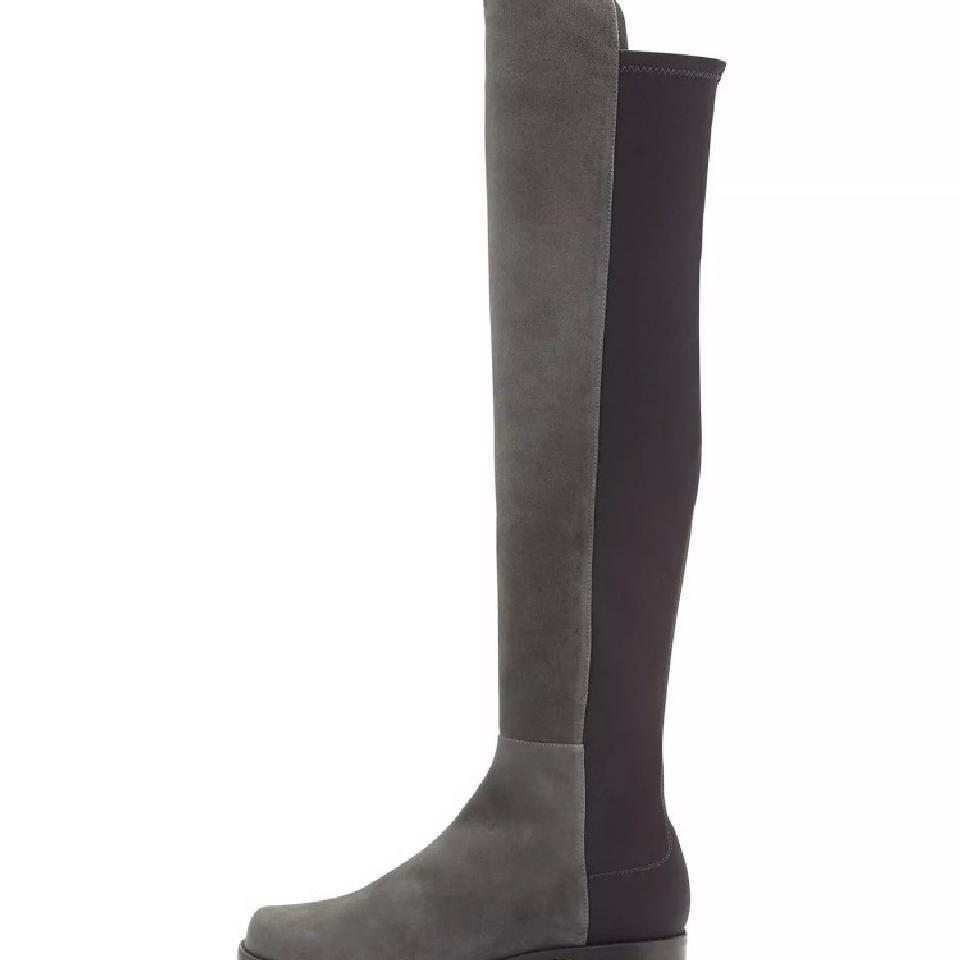 0eb5aab98763 ... Stuart Weitzman Grey Without Box 505 Suede Over Knee Knee Knee Boots/Booties  Size US ...
