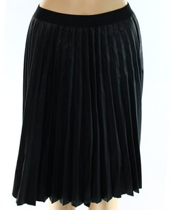 Studio M Faux Leather Skirt
