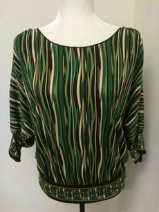 Studio M Green Top Brown