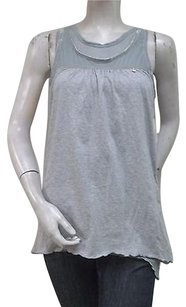 Super Dry White Label Heather Top Gray