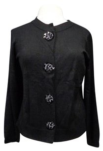 Susan Graver Button Up Cardigan Rayon Blend Sma10331 Sweater