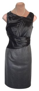 Suzi Chin for Maggy Boutique Tailoring + Silver/gray Priced Sell Fast Shipping Dress