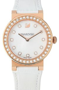 Swarovski 5027219 Rose Gold-Tone & White Watch
