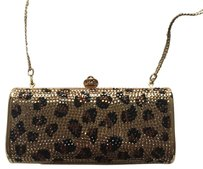 Swarovski Elements Leopard Clutch