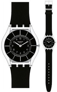 Swatch Swatch Black Classiness Ladies Watch Sfk361