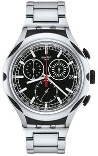 Swatch Swatch Black Energy Mens Watch Yys4000ag