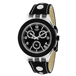 Swatch Swatch Svck4072 Mens Watch Black -