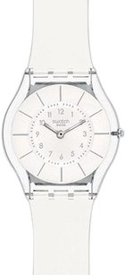 Swatch Swatch White Classiness Ladies Watch Sfk360