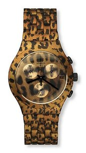 Swatch Swatch Ycb4027ag Mens Watch Gold Black -