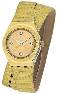 Swatch Swatch Ysg135 Womens Watch Gold Tone -