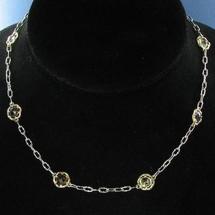 Tacori Tacori 18k925 Color Medley Necklace 18k Yellow Gold Sterling Silver