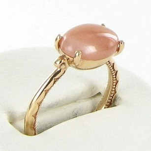 Tacori Tacori 18k925 Ring Moon Rose East-west Peach Moonstone 18k Rg