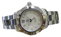 TAG Heuer Mens Tag Heuer Aquaracer Diamond Mother Of Pearl Dial Waf1115 Steel Watch