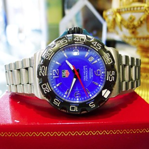 TAG Heuer Mens Tag Heuer Formula 1 Professional Wac1112-0 Blue Dial Watch