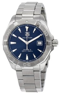 TAG Heuer TAG HEUER Aquaracer Blue Dial Stainless Steel Automatic Men's Watch THWAY2112BA0928