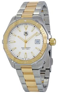 TAG Heuer TAG HEUER Aquaracer Silver Dial Two Tone Ladies Watch THWAY1120BB0930