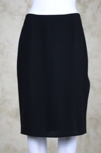 Tahari Womens Med Skirt Black