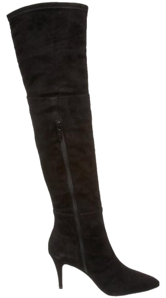 tahari black suede boots on sale 59 boots