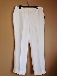 Tahari Luxe Polyester W Faux Pearl Beading 14p Pants