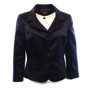 Tahari Luxe by ASL 100% Polyester Blazer