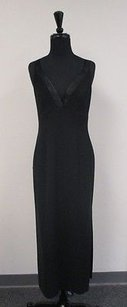 Black Maxi Dress by Tahari 100 Polyester