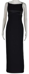 Tahari Womens Full Length Sleeveless Formal Sheath Dress