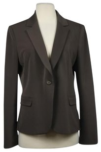 Tahari Tahari Womens Brown Blazer Long Sleeve Career Wtw Suit Jacket