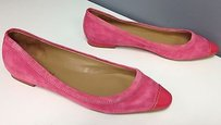 Talbots Suede With Pink Flats