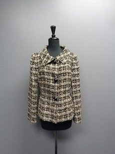 Talbots Collection Beige And Black Jacket