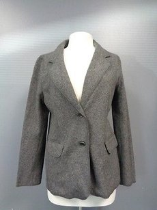 Talbots Button Wool Gray Jacket