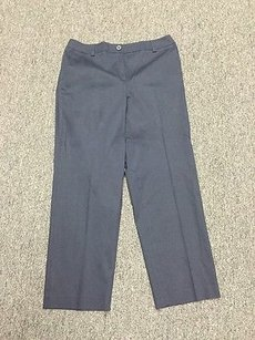 Talbots High Waist Capri/Cropped Pants Navy Blue