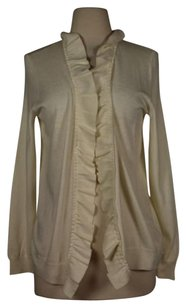Talbots Womens Long Sleeve Cardigan Cotton Blend Sweater