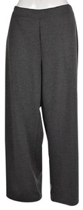 Talbots Woman Womens Plus Casual 1x Speckled Trousers Polyester Pants