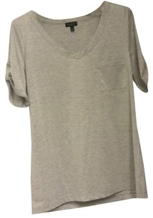 Talbots T Shirt Gray