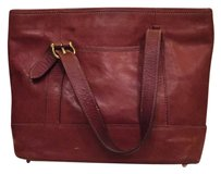 Talbots Satchel in Rust /Brown
