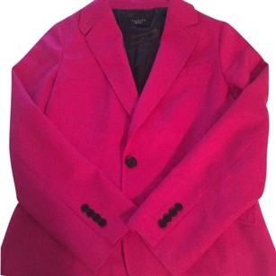 Talbots Single Button Jacket Hot Pink Blazer