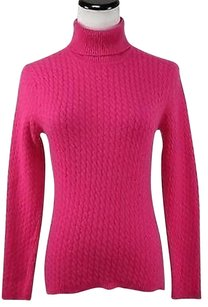 Talbots Womens Petites Turtleneck Mp Pm Long Sleeve Cashmere Sweater