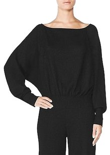 Tamara Mellon Of Jimmy Choo Off Batwing Cashmere Sweater