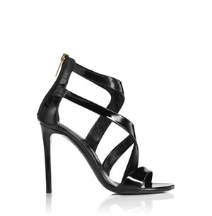 Tamara Mellon Womens Black Sandals