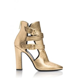 Tamara Mellon Womens Gold Pumps