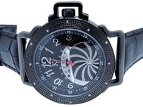 Techno Com by KC Mens Techno Com Kc Jojo Jojino Joe Rodeo Black Diamond Watch Mm 0.45 Ct