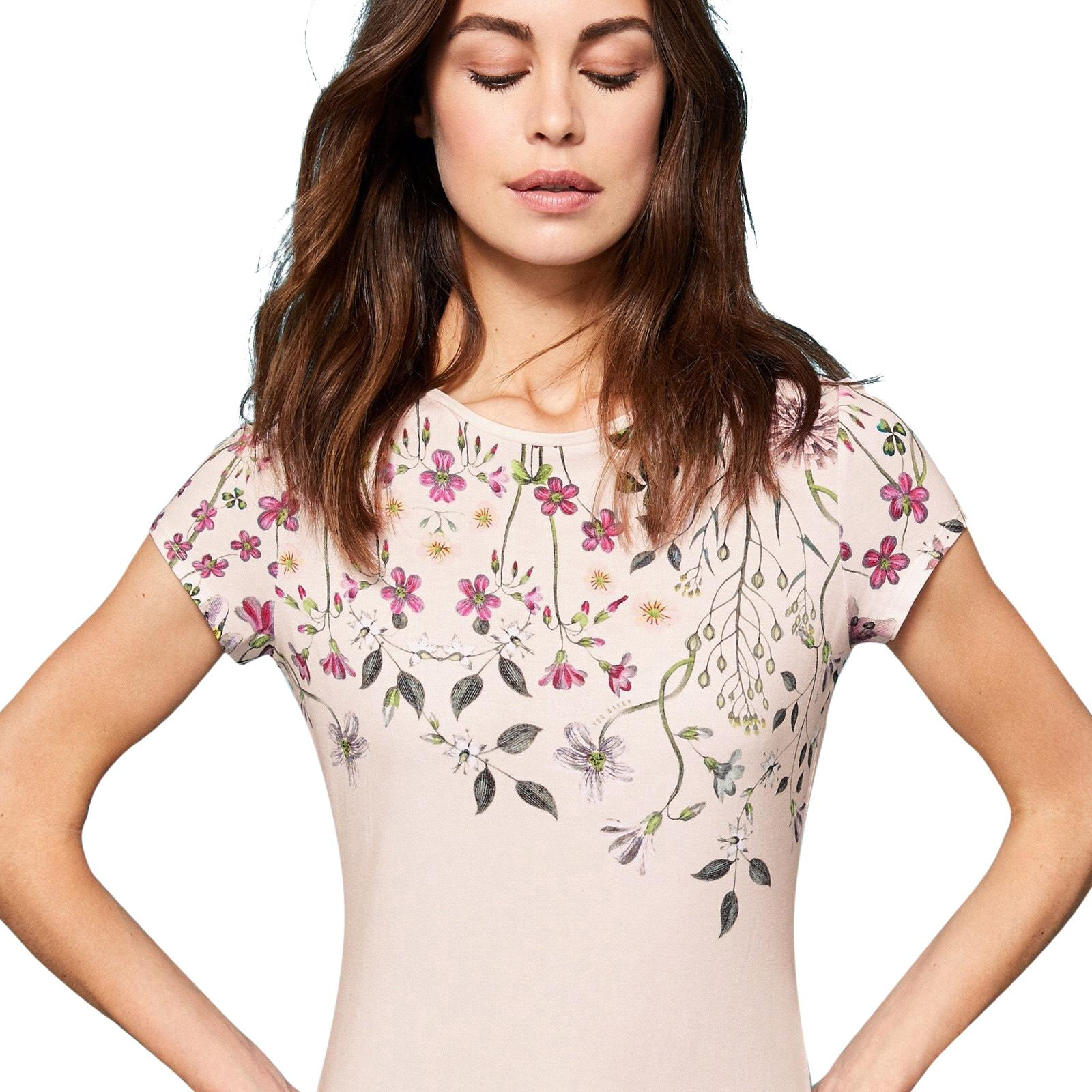 Ted Baker T Shirt Baby Pink ...