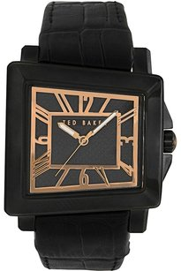Ted Baker Ted Baker Male About Time Watch TE1072 Black Analog