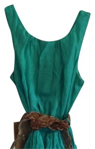 Teeze Me short dress Green, Sea Green, Khaki, Tan on Tradesy