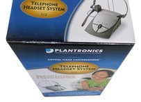 Telephone Headset Plantronics S12 Corded Telephone Headset System